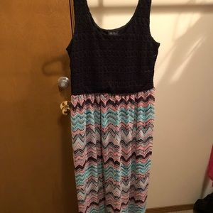 Boho crochet summer sundress